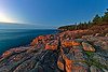 Acadia National Park Coast looking towards Otter Clifs