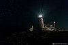 Pemaquid Point Lighthouse on a star lite night